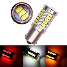 Car Light Backup LED Reverse 1156 P21W 12V 5630 <b>33-SMD</b> ...