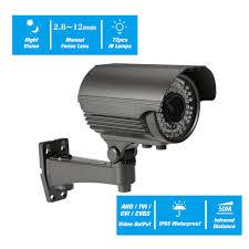 5MP AHD 2.8~<b>12mm</b> Manual Zoom Varifocal Lens IR Bullet <b>CCTV</b> ...