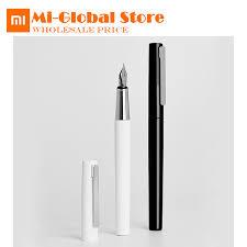 <b>Xiaomi</b> KACO <b>BRIO Black</b>/<b>White</b> Fountain Pen with Ink Bag Storage ...