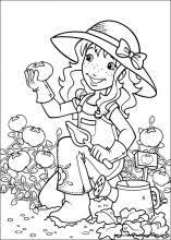 Small Picture Holly Hobbie coloring pages on Coloring Bookinfo Riscos