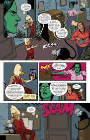 Chip Zdarsky steps into a writers role with Howard the Duck and. 1 page 8 Page 10.