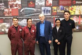 jeremy corbyn mp on twitter interesting talking to apprentices jeremy corbyn mp on twitter interesting talking to apprentices at wabtec rail about their training and the careers they re planning in the railway