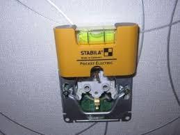 <b>Уровень</b> электрика <b>Stabila Pocket Electric</b> для установки розеток ...