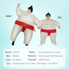 JYZCOS <b>Halloween Purim Costume Inflatable</b> Sumo Suit Sumo ...