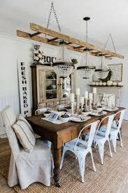 Farmhouse Dining Room Lighting 1000 Ideas About Farmhouse Dining Rooms On Pinterest Farmhouse