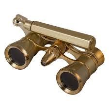 <b>Бинокль Levenhuk Broadway 325N</b> лорнет с подсветкой, золотой ...