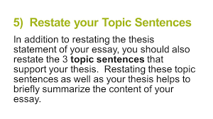paragraph essay structure brought to you by powerpointproscom   restate your topic sentences in addition to restating the thesis statement of your essay