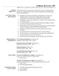 medical or surgical nurse resume  seangarrette coregistered nurse resume template and examples x