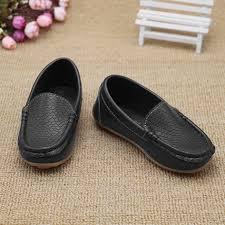 Girls <b>Boys Children Shoes</b> Casual Leather <b>Shoes Lightweight Flat</b> ...