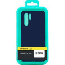 Чехол-накладка для Xiaomi Redmi Note 9 синий, <b>Microfiber Case</b> ...