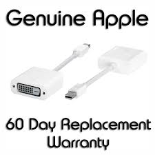 Genuine <b>Apple</b> Mini DisplayPort to DVI Adapter (MB570Z/A) – Mint ...