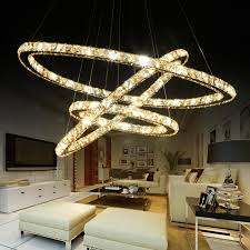 Unique Crystal Pendant Light In Modern Lighting Design White Themed Living Room And   W