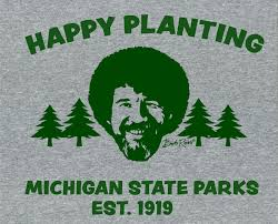 Michigan Plants 1,000 'Happy Little Trees' in Honor of <b>Bob Ross</b> ...