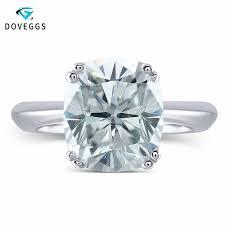 <b>DovEggs</b> Moissanite Engagement Rings For Women 2ct 7*8mm ...