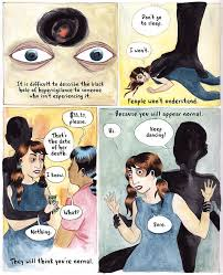 """the most interesting comics of the week   mental flossthe description of leela corman    s short but powerful comic essay published this past week in the online magazine nautilus reads  """"coming back to life after"""