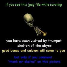 "What's ""Thank Mr.Skeltal"" ? : OutOfTheLoop via Relatably.com"