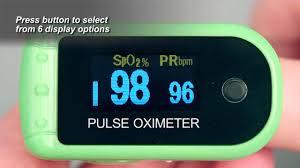 7088 <b>Finger Pulse Oximeter</b> Demonstration - YouTube