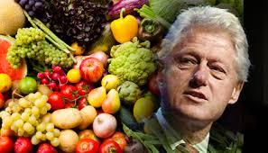 Resultado de imagen para Bill Clinton vegano