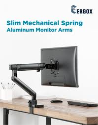 Premium <b>Full</b>-Extension Aluminum Slim <b>Mechanical Spring</b> Single ...