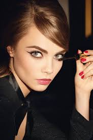 Her debut campaign for <b>YSL</b> Beauty, promoting its <b>Baby Doll</b> Mascara.