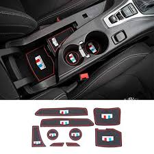 Car Gate Slot Non-Slip Cup Holder Pad Door Groove ... - Amazon.com