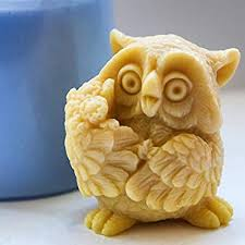 Soap Mold Owl with Flowers 3D Mold Soap Mold ... - Amazon.com
