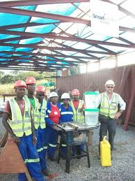 just water complete bucket system does good job in africa project manager rod russell sent us an email from his job site in south africa saying