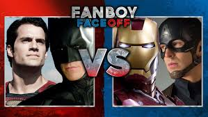 batmansuperman vs captain americairon man fanboy faceoff youtube batman superman iron man 2