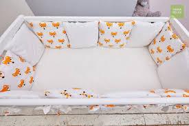 <b>Бортик</b> в кроватку <b>Mama Relax</b> Лисички (12 предметов) - купить в ...