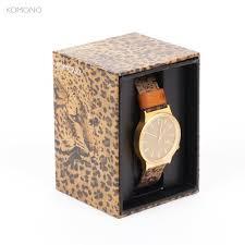<b>Часы KOMONO Wizard</b> Print Series Leopard, купить, цена с фото в ...