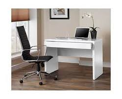luxor white gloss home office desk workstation with hidden drawer baumhaus chadwick grey painted hidden home office
