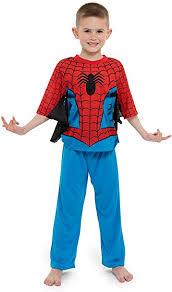 Spiderman Boys 2-Piece Uniform Set with Webbing ... - Amazon.com