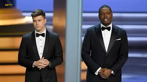 Emmys host Michael Che says the only white people who thank ...