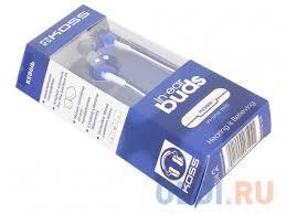 <b>Наушники</b> (гарнитура) <b>Koss KEB6i</b> B <b>Blue</b> — купить по лучшей ...