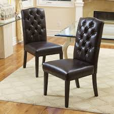 Tufted Leather Dining Room Chairs So Soft So Nice Gorgeous Tufted Dining Room Chairs Dining
