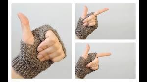 Как связать митенки на двух спицах | ANNETORIUM knits - YouTube