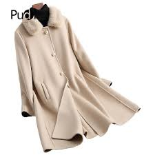 <b>2019</b> PUDI A38057 1 <b>2019</b> Women New <b>Fashion Double Side</b> Wool ...