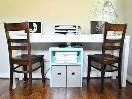 awesome home office desks for two people qj21 awesome home office desks