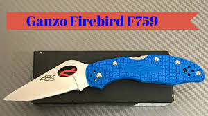 <b>Ganzo Firebird F759M</b> budget knife made in China 440C steel blade ...