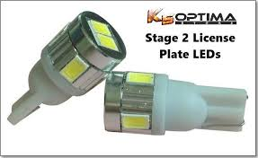License Plate Stage 1 & 2 LED Bulb Sets 194/T10 - K5 Optima Store