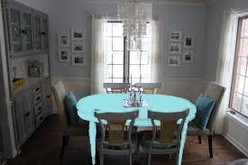 Colored Dining Room Sets Paint Dining Room Table Marceladickcom