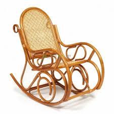 <b>Кресло</b>-<b>качалка MILANO</b> (<b>разборная</b>) без подушки, коньяк ...