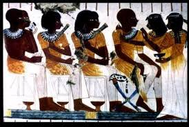 Egyptians Black Skinned People