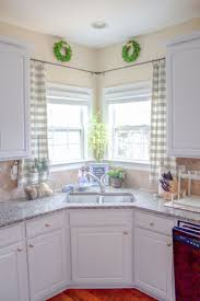 sink windows window love:  ideas about corner windows on pinterest corner window curtains corner window treatments and corner curtains