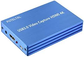 PUTELTAL 4K HDMI to USB 3.0 Video Capture Card ... - Amazon.com