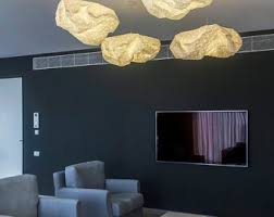 origami pendant lamp white textile shade fabric lighting 75x50x25 cm 295x196x98 inch home decor accessory black fabric lighting