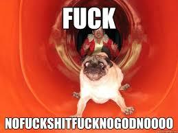 Terrified dog memes | quickmeme via Relatably.com