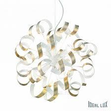 <b>Ideal Lux Vortex VORTEX</b> SP6 ORO <b>люстра</b> подвесная купить в ...