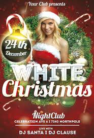 white christmas flyer template com white christmas flyer template awesomeflyer