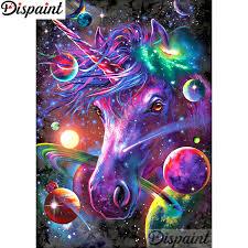 "<b>Dispaint Full Square/Round Drill</b> 5D DIY Diamond Painting ""Color ..."
